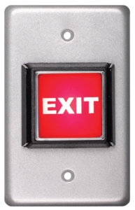 SI Series: Single Gang with Illuminated Icon Push Button